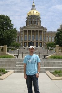 "The Iowa State Capitol building is by far one of the most beautiful in the entire country.  It is the only Capitol Building (out of fifty, of course), to feature not one, not three, but FIVE domes.  It's hilltop location gives it the prominence it deserves and allows for panoramic views of the city of Des Moines.  The building also holds international status as being the location of the yearly ""World Food Prize""."