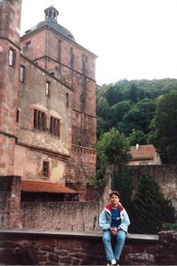 The famous ruins of Heidelberg Castle's Gate Tower was one of the major highlights on a day cruise of the picturesque Rhine Valley from Frankfurt-am-Main.  This is also one of the few pictures of me in a country which no longer exists - West Germany!  (Technically, of course).  Haha look at me, I'm 11 here!  Crazy.