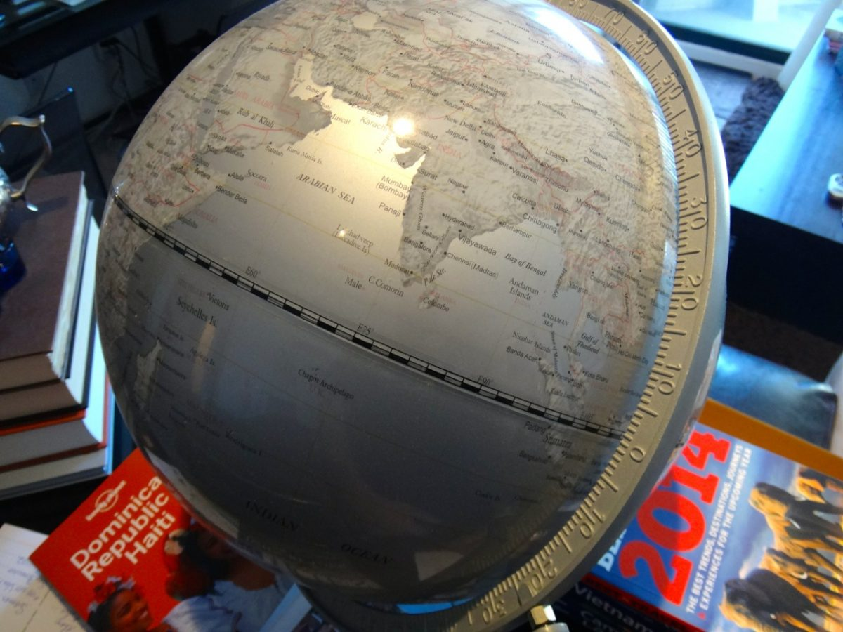 spin the globe